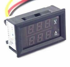 Dc 45 30v 0 50a Dual Led Digital Volt Meter Ammeter Voltage Amp Power Meter 12v