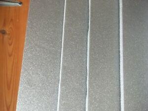 Depron foam MIXED SHEET PK 6mm 800mm x 4000mm  4 grey and 3mm  800 x 400 4 grey