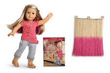 NEW IN BOX American Girl ISABELLE DOLL with PIERCED EARS + 7pr EARRINGS + Book