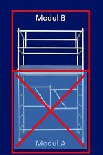 """ASC """"Eco-Line"""" Modul B, ERWEITERUNG für Modul A auf 3,80 m Arbeitshöhe, NEU"""