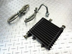 2003 03-08 Triumph Speedmaster OEM Oil Cooler Radiator Fluid Cooling Pipes Hoses