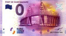 44 SAINT-NAZAIRE Pont, 2016, Billet 0 € Souvenir