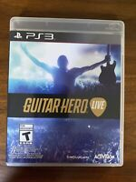 Guitar Hero Live (Sony PlayStation 3, 2015) PS3, Game Only with Case