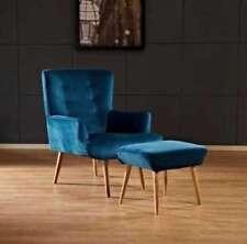 Living Room Modern Velvet Armchairs