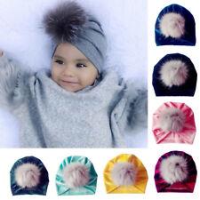 Toddler Girls Boys Baby Bandana Turban Head Scarf Beanie Cap Hat Cotton Headwear