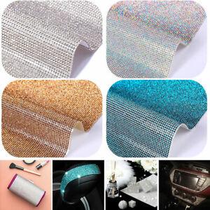 Diamond Crystal Rhinestone Sticker Sheet Diamante Self Adhesive Decoration DIY