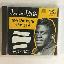 Junior Wells Messin' With The Kid 1957- 1963 EXc French Pressing 23 Track CD