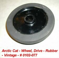 Arctic Cat Snowmobile Idler Wheel, Track Drive # 0102-077 NOS '71 EXT PUMA
