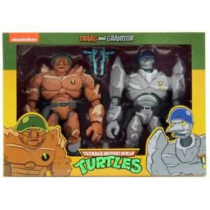 NECA - TMNT Tragg & Grannitor 2 Pk Action Figures • NEW & OFFICIAL •IN STOCK