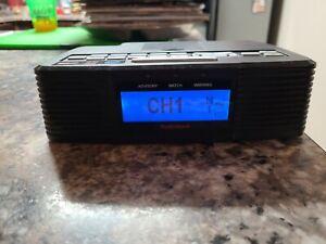 Radio Shack AM/FM WX Skywarn NOAA Alarm Clock Radio 12-519 w/ Power Adapter
