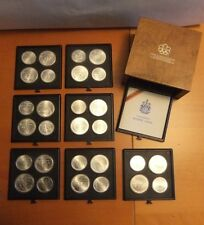7 Series 1976 Montreal, Canada XXI Olympics Coin Mint Set of 4 $5 & $10