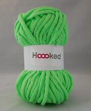 Hoooked soft néons ruban fil-crochet-groovy green super doux craft