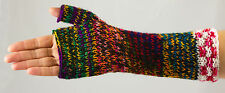 Arm warmers -hand knitted - fairly traded from Bolivia