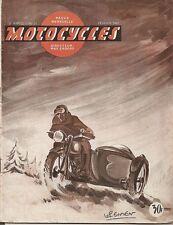 MOTO _ MOTOCYCLES revue bi-mensuelle_N 31- FEVRIER 1950 _TOURNIQUETS DE PROVENCE