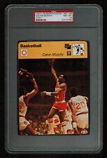 PSA 8 CALVIN MURPHY 1979 Sportscaster Basketball Card #62-09 High Number