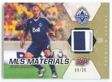 """ERIC HASSLI """"2 COLOR PATCH CARD #09/35"""" UD MLS SOCCER 2012"""