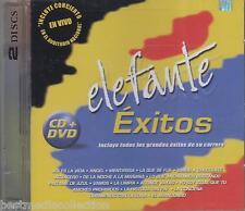 Elefante CD NEW Exitos De Su Carrera DELUXE CD + DVD SEALED