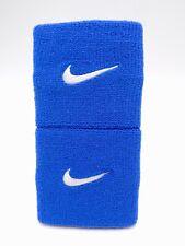 "Nike Promo Premier Wristbands Game Royal/White 3"" Men's Women's"