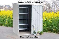Garden Shed 1.7x1.0x2m Storage Shed Tool Shed