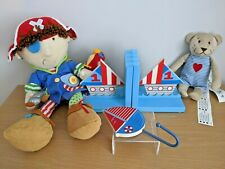 Boys Seaside Bedroom Accessories IKEA Bear Gisela Bookends Boat Hook Pirate Toy