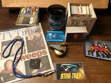 Vintage Star Trek Lot Of Random Collectibles S5