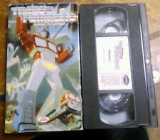 Transformers - Vol. 1: Prime Threat (VHS, 1999) The Original Vintage Cartoon