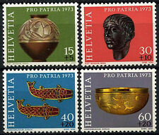 Switzerland 1973 SG#869-872 Pro Patria, Archaeological Discovery MNH Set #D45733