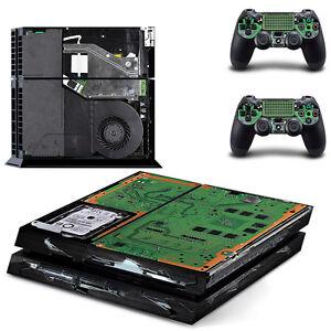 PS4 Skin Elektronik Designfolie Sticker Playstation 4 Vinyl Schutzfolie - Matt