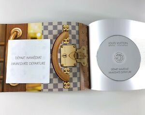 LOUIS VUITTON IMMEDIATE DEPARTURE VIP VIC CATALOG BOOK + HIGH RES PHOTO CD RARE