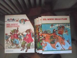 cofanetti 4 libri nel mondo delle fiabe 1983