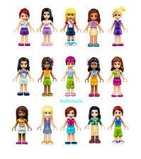 Lego Friends Random Minifigures Girls Boys Dolls w/ Accessories Animals Lot of 5