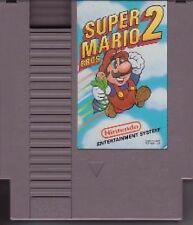 SUPER MARIO BROS 2 TWO BROTHERS GAMES NINTENDO GAME ORIGINAL NES HQ
