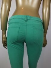 COUNTRY ROAD JEANS GREEN SKINNY JEANS  PANTS  -  4