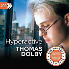 THOMAS DOLBY HYPERACTIVE THE MASTER COLLECTION 2 CD (Released 27th July 2018)