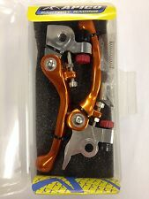 KTM  SXF 450  EXCF 450  2014-2017    FLEXI  FLEXIBLE LEVER LEVERS SET  ORANGE
