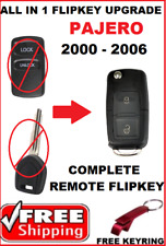 Mitsubishi PEJERO Remote Car Key  FLIPKEY 2000 2001 2002 2003 2004 2005 2006