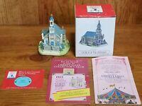 Vintage Liberty Falls Americana Church Epiphany Village Western Figurine AH134