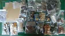Huge Lot Steampunk Collage Altered Art Junk Drawer findings bulbs diodes metal