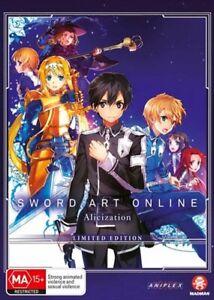 Sword Art Online - Alicization - Part 2 - Eps 14-24 - Limited Edition DVD