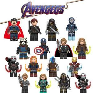 Marvel Avengers Minifigures DC X-Men SuperHeroes Iron Man Deadpool Infinity Wong