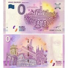 0 Euro Schein 2019 Hrad Zborov Souvenir Banknote Slowakei