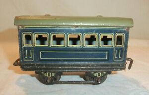 M.7/21 C Karl Bub Einheitswagen 30er Jahre Alt Blech Spur 0 Modelleisenbahn