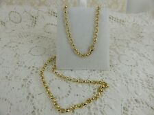 New 9ct 9carat Yellow Gold Oval Belcher Chain 13.8 grams 24''.