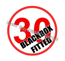 Blackbox Fitted Funny Car Sticker Decal  Young driver Insurance Black box 170mm