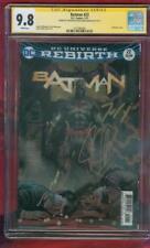 Batman 22 CGC 2X SS 9.8 Tom King Lenticular Cover Flashpoint Top 1 Movie