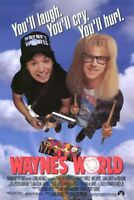 Wayne's World Original Filmposter Final Stil Einzel Seiten - Mike Myers