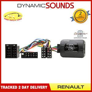 CTSRN001 Interface Commande au Volant Tige Adaptateur pour Renault Clio, Laguna