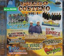 Los Cumbieros del Sur,Dueto Bertin y Lalo,Los Donnys,Luz roja de Acapulco CD New