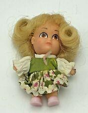 "Vintage Hasbro Storykins Goldilocks 3"" Doll w/ Dress 1967"