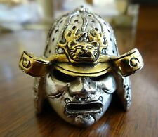 Franklin Mint Japanese Samurai 24k Wash Pewter Armor Helmet Replacement Piece
